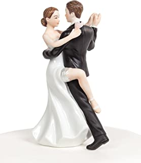 96 Count Bride and Groom Lucks Dec-Ons Decorations Molded Sugar//Cup-Cake Topper 1.5 Inch