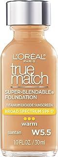 True Match Super Blendable Makeup SPF 17 - # W5.5 Suntan by LOreal Paris for Women - 1 oz Makeup