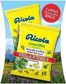 Ricola Sugar Free Lemon Mint Drops, 210Count