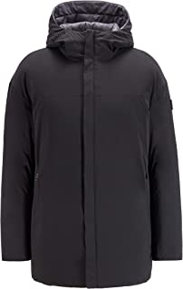 BOSS Mens J Clove Reversible Oversized Down Jacket in Water-Repellent Fabric