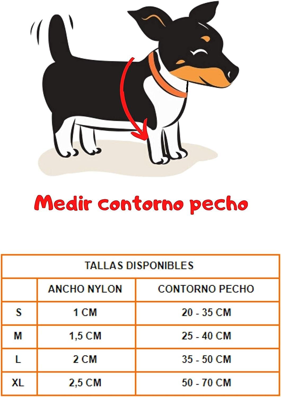 S : 1 x 20 /– 35 cm, Marron Harnais en nylon en forme de H dans diff/érentes tailles et couleurs Harnais pour chien anti-traction iPet Harnais r/éfl/échissant pour chiens et chiots de toutes tailles