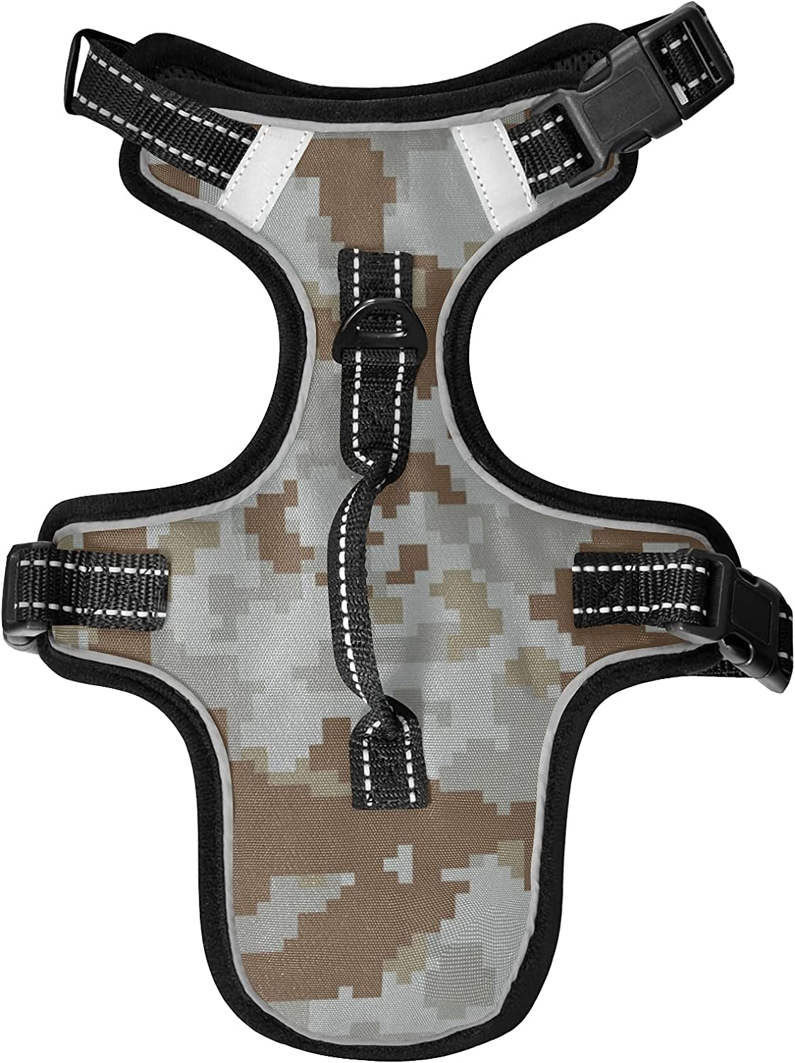 KFBE Digital Camouflage Cat Large discharge sale Max 62% OFF Harnesses Lea and Dog Vest