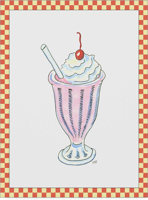 Trademark Fine Art Ice Cream Parlor Ii Art by Virginia a. Roper, 14x19