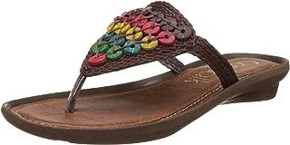 Catwalk Multicolor Slip-on Sandals for Women's