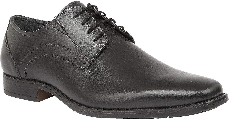 Lotus Black Huntington Leather Lace-Up shoes