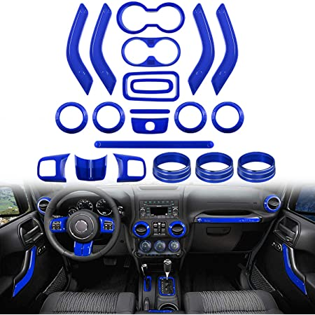 Steering Wheel Cover Trim Interior Decaration for 2007-2010 Jeep ...