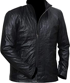 Mens Biker Cruise MI 5 Rider Synthetic Leather Jacket