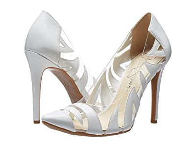 Jessica Simpson Palmra (Bright White Super Patent) Women