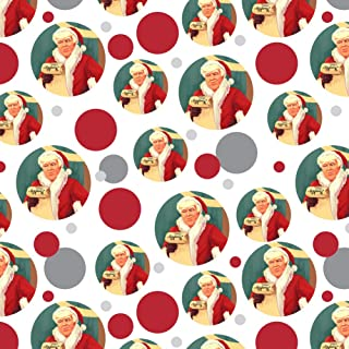 GRAPHICS & MORE Santa Donald Trump with Naughty List Christmas Premium Gift Wrap Wrapping Paper Roll