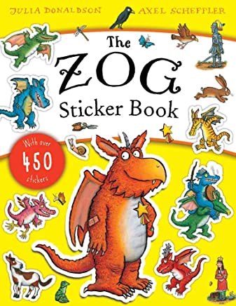 The Zog Sticker Book