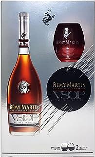 Remy Martin Geschenbox - Remy Martin VSOP Champagner Cognac 0,7l 700ml 40% Vol  2x Gläser -Enthält Sulfite