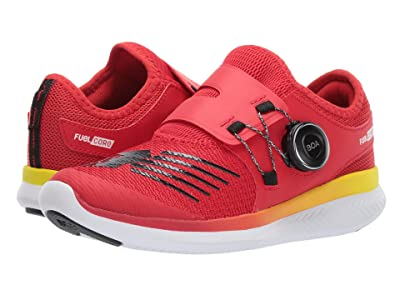 New Balance Kids FuelCore Reveal (Big Kid) (Velocity Red/Black) Boys Shoes