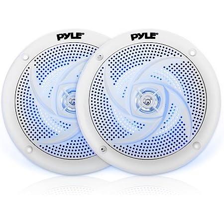 Pyle WP Amplifier BT,400W 4-Chan Pyle BT Marine Receiver Stereo w//Enrock Marine 6.5 Weather Resistant Marine Speakers 60W White 3-Pairs Enrock Marine Antenna /& Enrock Marine 50 16G SPKR Wire