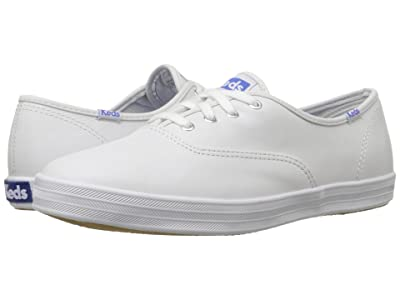 Keds Champion-Leather CVO (White Leather) Women