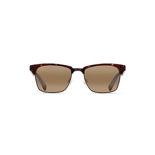 8eeaf752211ed Maui Jim MAUI JIM KAWIKA 257 Unisex Sunglasses Gloss Black with Antqiue  Pewter