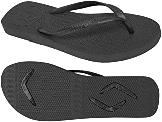 Boomerangz Slim Fit Interchangeable Flip Flops | Slippers | Thongs (Women's) Colour: Black