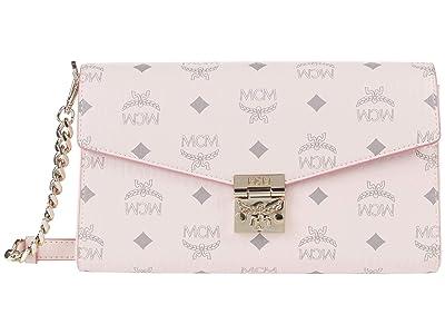 MCM Millie Visetos Crossbody Medium (Powder Pink) Handbags