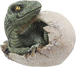 Ebros Jurassic Era Predator Hatching Dinosaur Egg Figurine 4