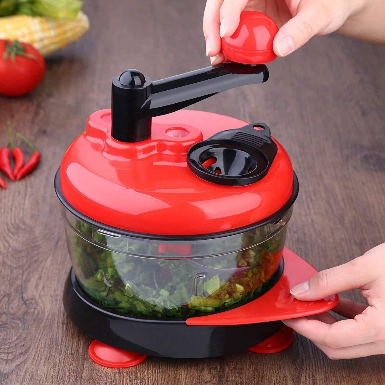 Compra Picador de Verduras Multifunción Manual Procesador de ...