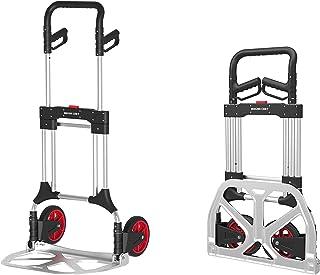 Magna Cart Folding Hand Trolley, 200 kg, Aluminium, Black, 10 kg