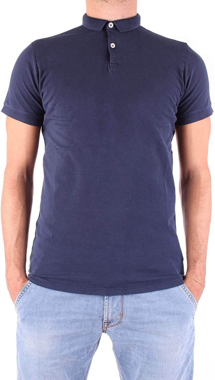 FRADI Men's 181PW40181CN6380bluee blueee Cotton Polo Shirt