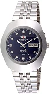 ORIENT Men's Automatic Silver/Blue Watch SEM70005D8 Authentic Made in Japan