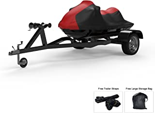 Weatherproof Jet Ski Covers for SEA DOO RXT 2007-2009 - Multiple Color Options - All Weather - Trailerable - Protects from Rain, Sun, UV Rays, and More! Includes Trailer Straps and Storage Bag