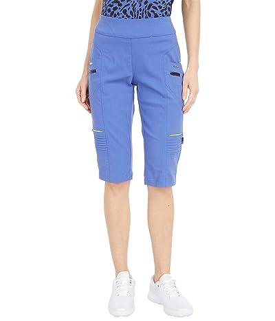 Jamie Sadock Skinnylicious 24.5 Knee Capris with Control Top Panel (Slate) Women