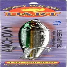 Point Wilson Dart Anchovy Jig, 4-Ounce, Green Nickel