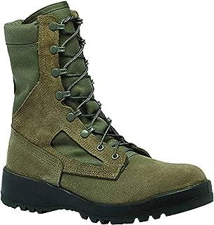 Tactical Bundle: Belleville Men's Hot Weather Steel Toe Boot Sage 11 R & Cap