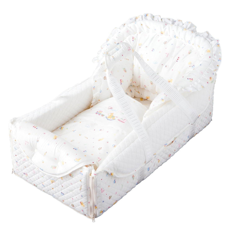 赤ちゃんの城 バッグdeクーファン パステルトーイ オフホワイト