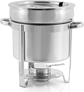 Elektrischer Suppentopf Suppenstation Suppenwärmer Suppenkugeltopf 10L Ø 34 cm