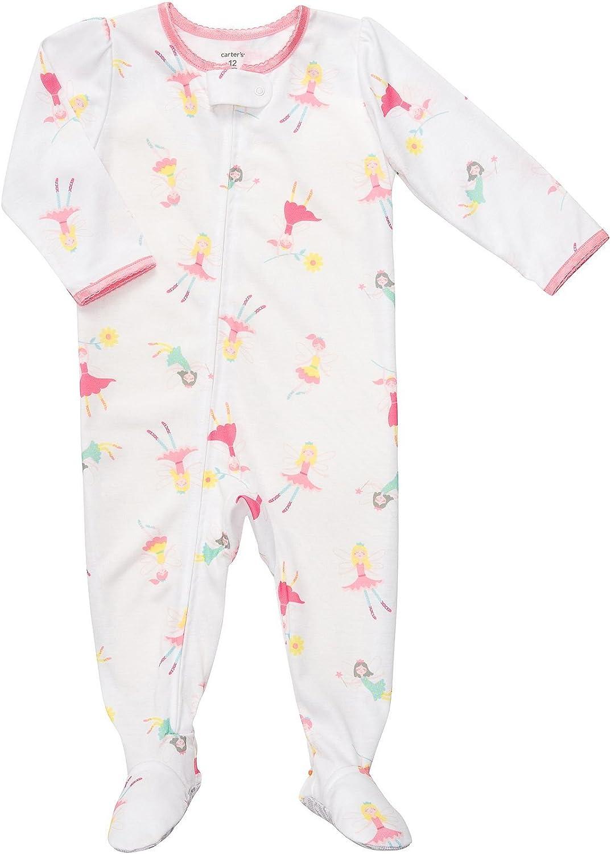 Carter's Girls 1 Pc Sleeper Pj's Fairy Princess Pajamas (5t)