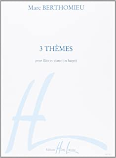 3 Themes (flute and piano or harp)