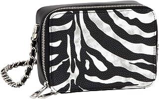 SIX Stylische Cross-Body Bag im Zebraprint, Tierkostüm, Karneval, Fasching, Verkleidung (726-864)