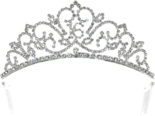 Birthday Party Crystal Tiara Crown - 16th Sweet Sixteen Sixteenth T1276