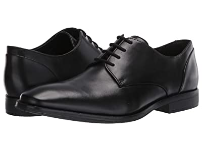 Clarks Gilman Plain (Black Leather) Men