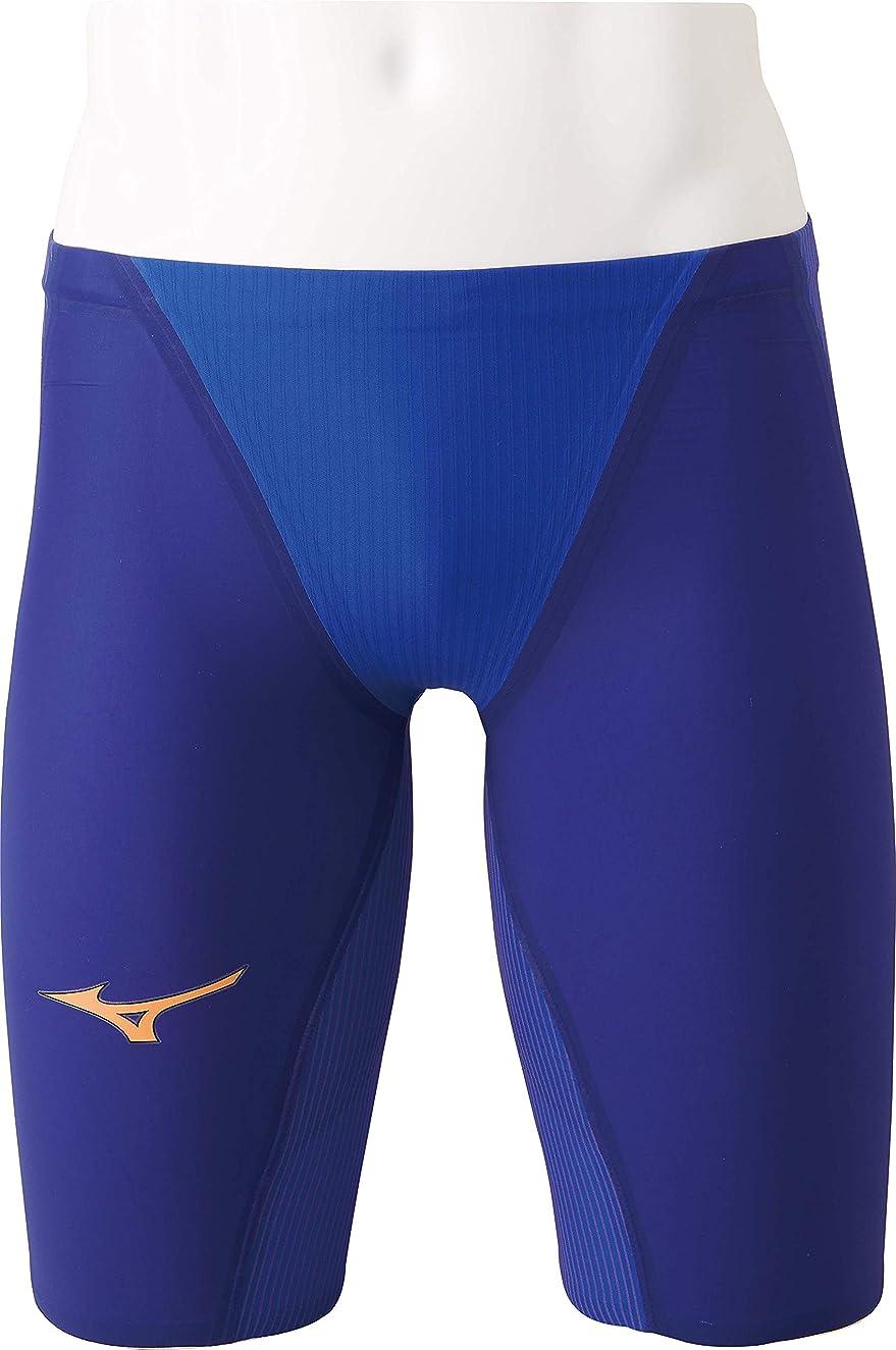 障害者上に男MIZUNO(ミズノ) レース用競泳水着 メンズ?ボーイズ GX?SONIC IV MR FINA承認 130~XL N2MB9002 27:ブルー