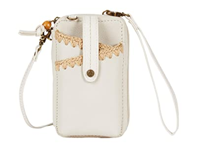 The Sak Iris North/South Smartphone Crossbody (Stone Crochet) Cross Body Handbags