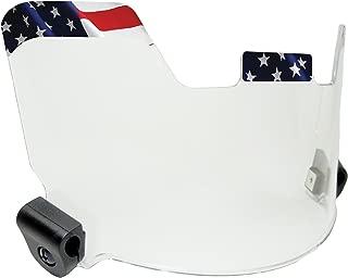 EliteTek Visor/Eye-Shield - Hard Hitting No Quitting