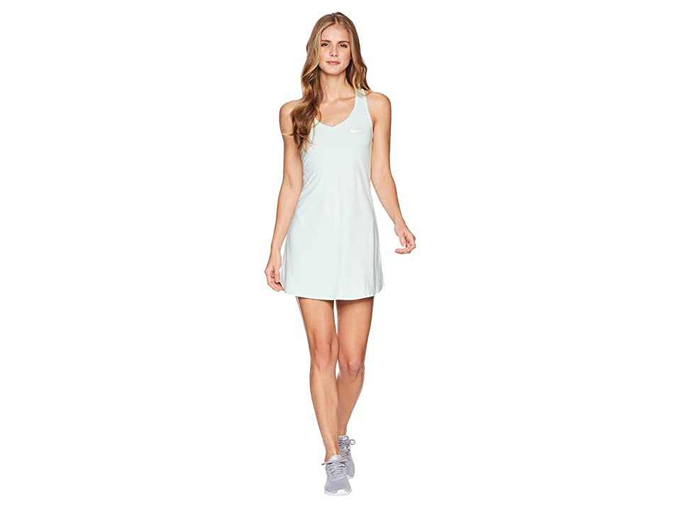Nike Nike Court Dry Tennis Dress (Igloo/White) Women