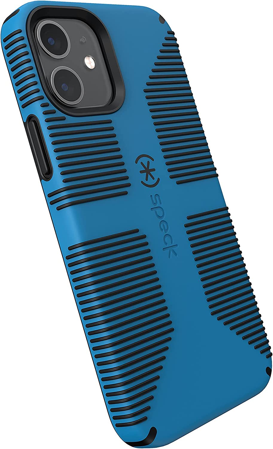 Speck Products CandyShell Pro Grip iPhone 12 / iPhone 12 Pro Case, Varsity Blue/Black