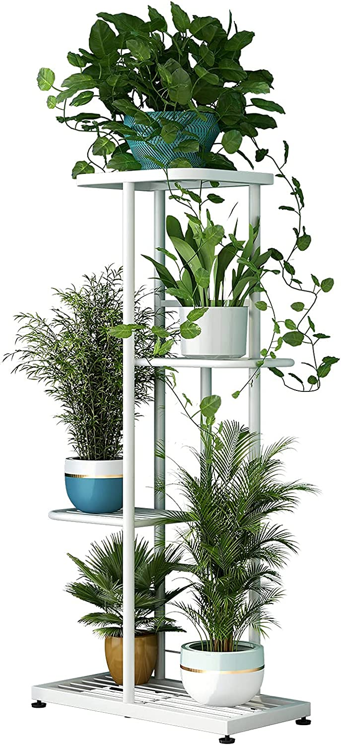 Metal 4 Tier 5 Potted Limited price sale Plant In stock Holder Pot Flower Stand She Multiple