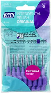 TePe Interdental Brushes 1.1mm Purple - 5 Packets of 8 (40 Brushes)