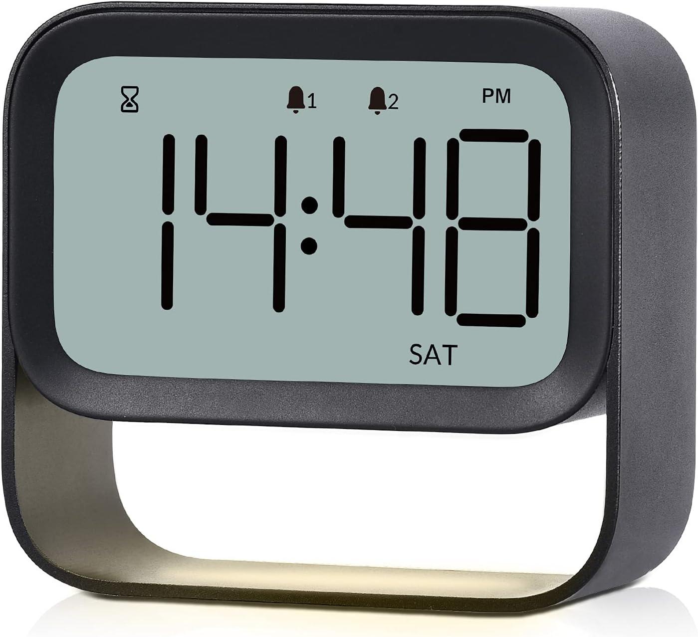 Ranking TOP18 ICECUUL LCD Ranking TOP13 Digital Clock Alarm with Night Adjustable Ligh