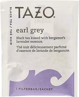 Tazo Earl Grey Black Tea, 20-Count Tea Bags (Pack of 6)