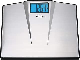 Taylor Precision Products 7410 Taylor High Capacity Digital Bathroom Scale, Samsung, Multicolored