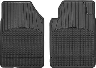 CarFashion 271673 Allwetter Schalenmatte A1 , vorne 2 teilig , TPE Gummimatte schwarz , Universal Auto Fussmatten , Set ohne Mattenhalter