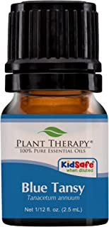 Plant Therapy Blue Tansy Essential Oil | 100% Pure, Undiluted, Natural Aromatherapy, Therapeutic Grade | 2.5 milliliter (1/12 ounce)