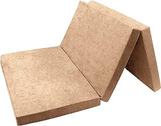 Colchón plegable para invitados 01. Beige XXL – 195 x 120 x 9 cm W396_01 Fortisline